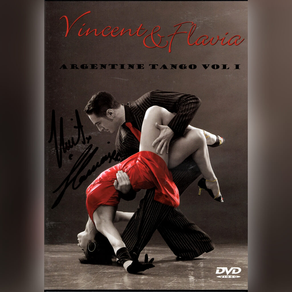Signed Argentine Tango Vol 1 DVD