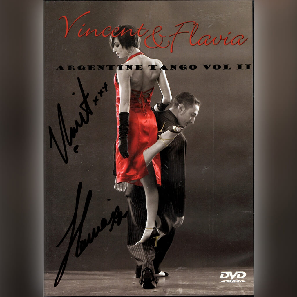 Signed Argentine Tango Vol 2 DVD