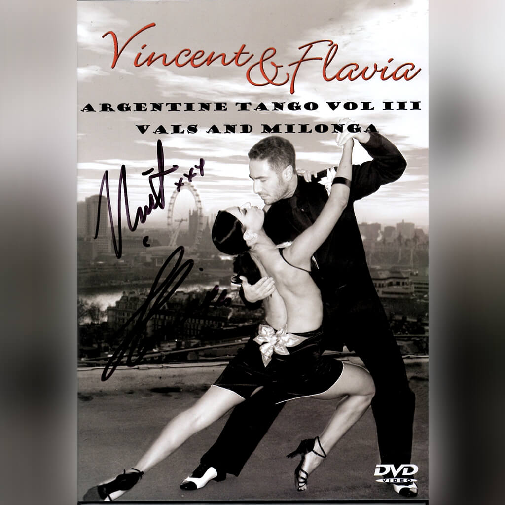 Signed Argentine Tango Vol 3 DVD